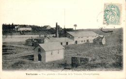 Carte 1906 TORTERON / VUE GENERALE - DOMAINE DE LA VERRERIE - CHAMP CERISIER - Sonstige Gemeinden