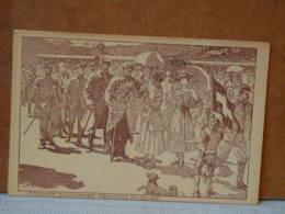 ARRIVEE D'INTERNES FRANCAIS EN SUISSE - ILL W.T.D. - Guerre 1914-18