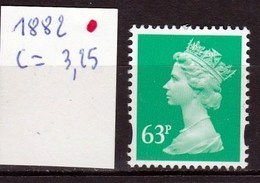 N°1882  Neuf** Reine Elisabeth 2 émeraude - 1952-.... (Elizabeth II)