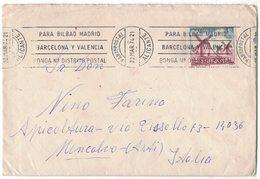 IB80   Spain 1974 Cover Alicante To Moncalvo Italy Mi.nr.2133 - 1931-Aujourd'hui: II. République - ....Juan Carlos I