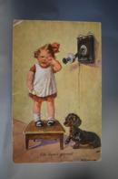 B132 Wally Fialkowska - Fur Immer Getrennt / Crying Little Girl / Phone / Dog - Fialkowska, Wally