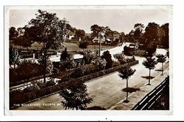 CPA-Carte Postale-Royaume Uni-Southend-on-Sea -Thorpe Bay-The Boulevard -1927- VM16250 - Southend, Westcliff & Leigh