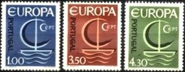 PORTUGAL, 1966, EUROPA, CE#983-85, VARIETY 31 Mms., MNH - Errors, Freaks & Oddities (EFO)