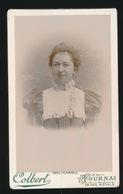 CDV - PHOTOGRAPHE   COLBERT  TOURNAI  50 RUE ROYALE - Anciennes (Av. 1900)