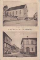 67-DANGOLSHEIM - Eglise Et Ecole - Rue Principale - Autres Communes