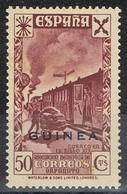 Sello 50 Cts  Beneficencia GUINEA Española 1943, Edifil Num 15 ** - Guinea Española