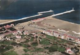 Port-la-Nouvelle - Vue Aérienne La Plage Et La Jetée - Port La Nouvelle