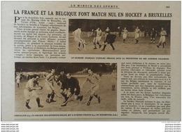 1927 HOCKEY SUR GAZON - OSCAR EGG - COURSE MAISONS LAFFITTE - AVION MILITAIRES EN ANGLETERRE - LINAS MONTLHÉRY - Newspapers