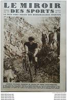 1927 FONTAINEBLEAU CYCLO PEDESTRE CHARLES PELISSIER - HOCKEY SUR GAZON - OSCAR EGG - RUGBY MILITAIRE - - Zeitungen