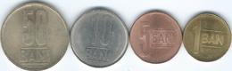 Romania - Republic - 2012 - 1, 5, 10 & 50 Bani (KMs 189-192) Eagle Without Crown - Romania