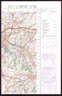 TONGEREN 34 - Edition 1 - Serie M737 - Feuille 34 - Topographical Maps