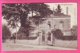 FONTENAY LE COMTE PROPRIETE DE Mme GUILLEMET RUE TIRAQUEAU  - BELLE VUE CP NEUVE - Fontenay Le Comte