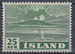 +Iceland 1948. Hekla 1947. AFA / MICHEL 248. MNH(**). - 1944-... Republic