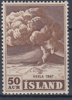 +Iceland 1948. Hekla 1947. AFA / MICHEL 250a. MNH(**). - 1944-... Republic
