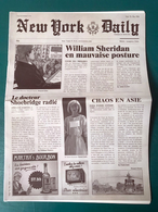 New York Daily / Us Today - Faux Journal Publicitaire Xiii Mystery - XIII