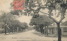 Nouvelle Caledonie New Caledonia  Noumea Avenue Wagram  . Stamped - Nuova Caledonia