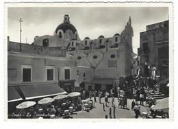 5917 - CAPRI LA CATTEDRALE ANIMATA NAPOLI 1954 - Andere Steden