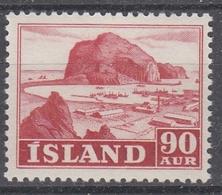 +Iceland 1950. Occupations. AFA / MICHEL 266. MNH(**). - 1944-... Republic