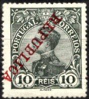 PORTUGAL, 1910, KING MANUEL II, CE#172, W/ INVERTED OVERPRINT, MNH - Errors, Freaks & Oddities (EFO)