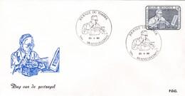 Enveloppe Cover Brief FDC 2169 Journée Du Timbre Braine-le-Comte - FDC
