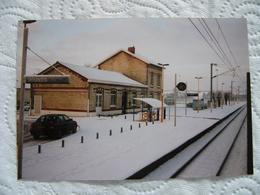 Photo Argentique Prise à Partir Du Poste De Conduite D'un Train GARE DE DOURGES Pas De Calais 62 - Orte