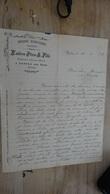 Facture : Huilerie Hydrolique D'olives, ESTEVE A AUBRES Pres NYONS En 1929 .................. 13 - Alimentaire