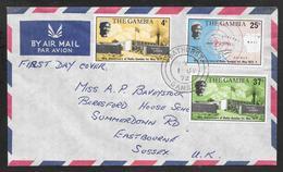 The Gambia - 1972 FDC Radio Gambia Anniversary - Bathurst Postmark - Gambia (1965-...)