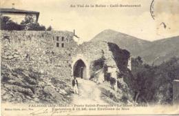 CPA - FALICON - PORTE SAINT FRANCOIS (AU THE DE LA REINE, CAFE RESTAURANT) - Francia