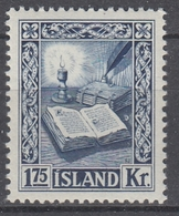 +Iceland 1953. Manuscripts. AFA / MICHEL 290. MNH(**). - 1944-... Repubblica