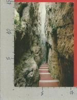 CARTOLINA NV ITALIA - GAETA - Santuario Montagna Spaccata - Spaccatura Principale - 10 X 15 - Latina