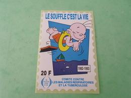 TC26 / ANTITUBERCULEUX / TUBERCULOSE  Grande Vignette 20 Frs 1992/1993  Neuf ** - Erinnofilia