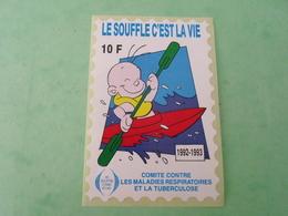 TC26 / ANTITUBERCULEUX / TUBERCULOSE  Grande Vignette 10 Frs 1992/1993  Neuf ** - Erinnofilia