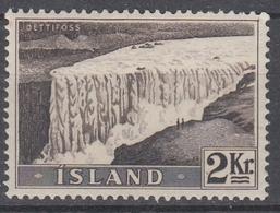 +Iceland 1956. Dettifoss. AFA / MICHEL 307. MNH(**). - 1944-... Republic