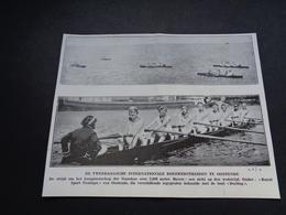 """Origineel Knipsel ( 3829 ) Uit Tijdschrift """" Ons Volk """"  1930  :  Ostende   Oostende - Non Classés"""