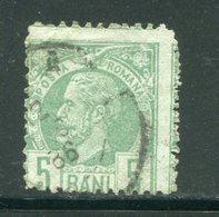 ROUMANIE- Y&T N°65- Oblitéré - 1881-1918: Carol I