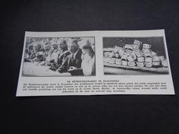"""Origineel Knipsel ( 3831 ) Uit Tijdschrift """" Ons Volk """"  1930  :  Ecaussines  Ecaussinnes - Unclassified"""