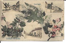 """62 - Aubigny-en-Artois - Carte Fantaisie """"Souvenir D'Aubigny-en-Artois"""" - Aubigny En Artois"""