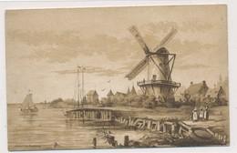 Chromo Cacao Van Houten Représentation Moulin - Van Houten