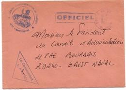 Centre Expérimentations (nucléaire) Du Pacifique 1982 - Tahiti 1982 - Poste Aux Armées - Polynésie Française