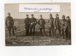 CPA PHOTO - 64 - PAU - AVIATION - MILITARIA 1913 - CENTRE De PAU Groupe De Pilotes Dont St LARTIGUE à Priori - RARE - - Pau