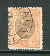 ROUMANIE- Y&T N°136- Oblitéré - 1881-1918: Charles Ier