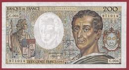 "200 Francs ""Montrsquieu"" 1981 ----TTB+----ALPH.C.004 - 200 F 1981-1994 ''Montesquieu''"