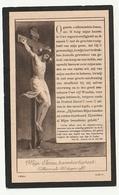 Doodsprentje Joseph VANDEN BERGEN Everberg 1851 Priester Mechelen Thildonck Overbroek 1929 - Images Religieuses