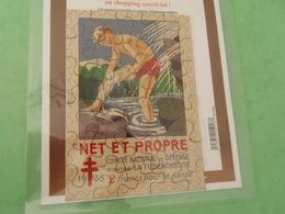 TC26 / ANTITUBERCULEUX / TUBERCULOSE / Puzzle 1938 NET ET PROPRE Complet - Erinnofilia