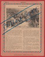Protége Cahier Ancien La France Coloniale GUADELOUPE Dans La Petite-guinée ; Archipel Des Saintes - Protège-cahiers