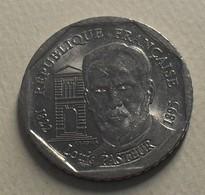 1995 - France - 2 FRANCS, Louis Pasteur, KM 1119, Gad 549 - Commémoratives
