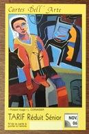 76 LE HAVRE CARTES DELL'ARTE NOV 06 SÉNIOR ARTISTE L. CORVAISIER BUS METRO TITRE DE TRANSPORT QUE POUR LA COLLECTION - Abonos