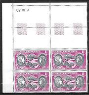 FRANCE Coin Daté Poste Aérienne 47 Boucher Et Hills Neuf** - Coins Datés