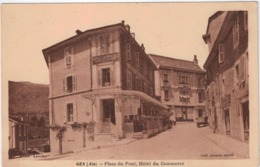 Lot-09 - Ain - Gex - Place Du Pont - Hotel Du Commerce - Gex