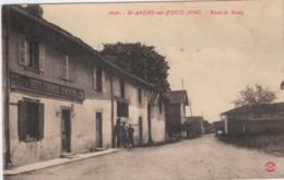 Lot-09 - Ain - St Andre Sur Vieux Jonc - La Route Du Bourg - Frankreich